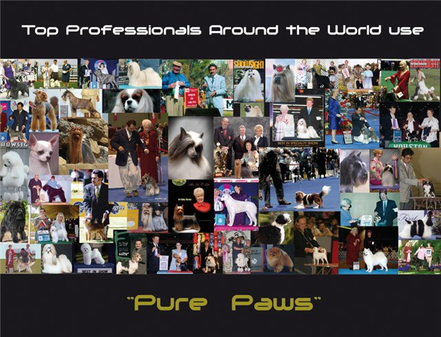 Professional cosmetics for dogs and cats Pure Paws