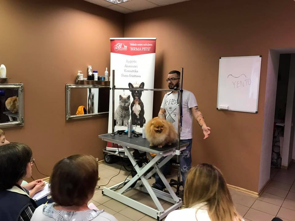 Grooming seminar with Roman Fomin