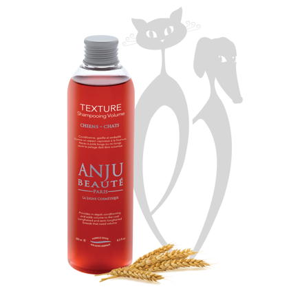 Anju Beaute Shampoo Texture, 250 ml - Provides in-depth conditioning and adds volume to the coat