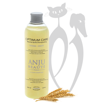 Anju Beaute After shampoo balm Optimum Care, 250 ml - conditioner that keeps the texture and volume of the fur