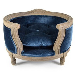 George Royal Blue Velvet - M, #107