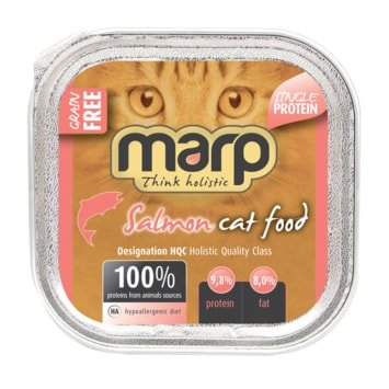 Marp Think Holistic Pure Salmon Cat Food - 100 g