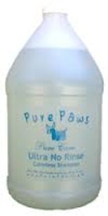 Pure Paws No Rinse Shampoo Gallon, 3,78 L - enhances all colors & brightens whites