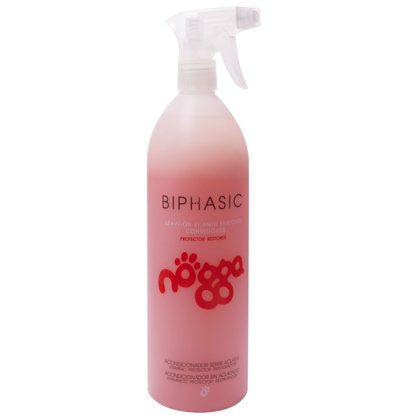 Nogga Classic Line Biphasic Conditioner, 1000 ml - leave-in conditioner for daily care, de-matting spray, moisturizer