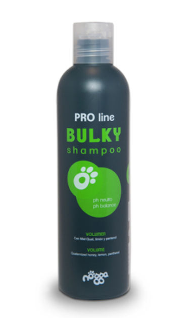 Nogga PRO Line Bulky Shampoo, 250 ml - Gives extra high volume while moisturizes