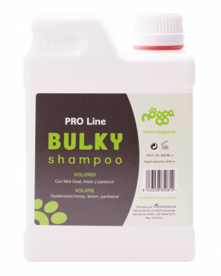 Nogga PRO Line Bulky Shampoo, 500 ml - Gives extra high volume while moisturize