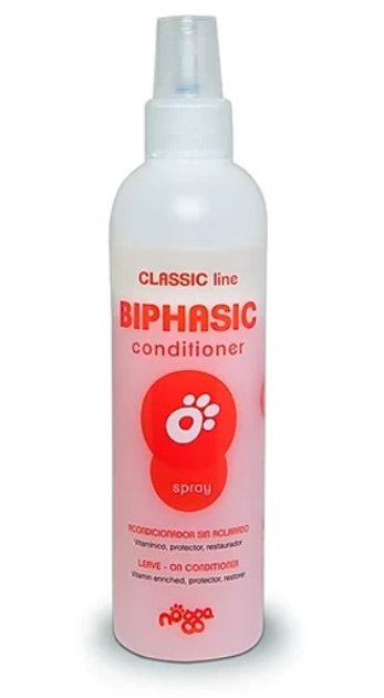 Nogga Classic Line Biphasic Conditioner, 250 ml - leave-in conditioner for daily care, de-matting spray, moisturizer