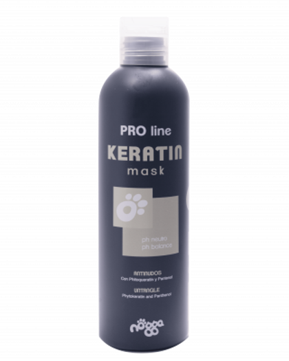 Nogga PRO Line Keratin Mask, 250 ml - restoring and antitangling mask