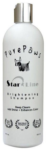 Pure Paws Brightening Shampoo, 473 ml - enhances all colors & brightens whites, cleaning shampoo
