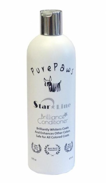 Pure Paws Brilliance Conditioner, 473ml - Whitens and brightens while moisturizes and hydrates the coat