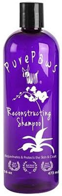 Pure Paws Reconstructing Shampoo, 473 ml - moistures and hydrates all coat types
