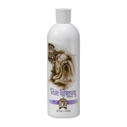 #1 All Systems Pure White Lightening Shampoo, 500 ml - designed for whites, creams, pale golds and light silvers