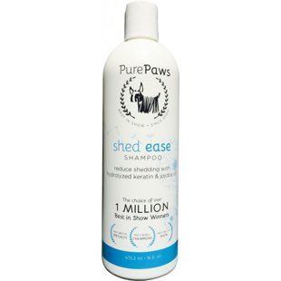 Pure Paws SLS Free Line Shed Ease Shampoo, 473ml - sulfate free shampoo for restoring normal shedding cycles