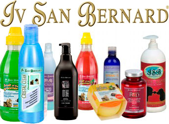 Professional cosmetics for dogs and cats Iv San Bernard