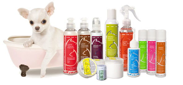 Professional cosmetics for dogs and cats Ladybel