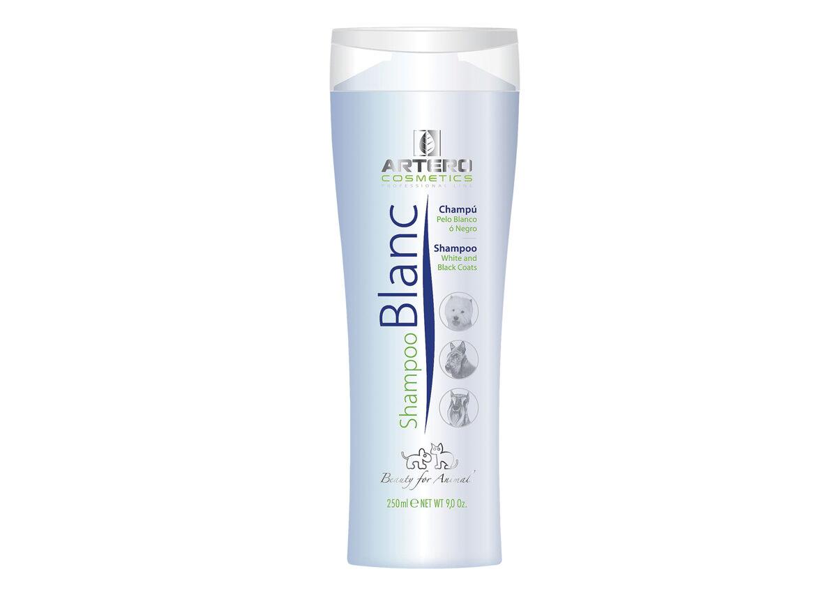 Artero Shampoo Blanc, 250 ml - šampūns baltu un mēlnu mēteļu kopšanai