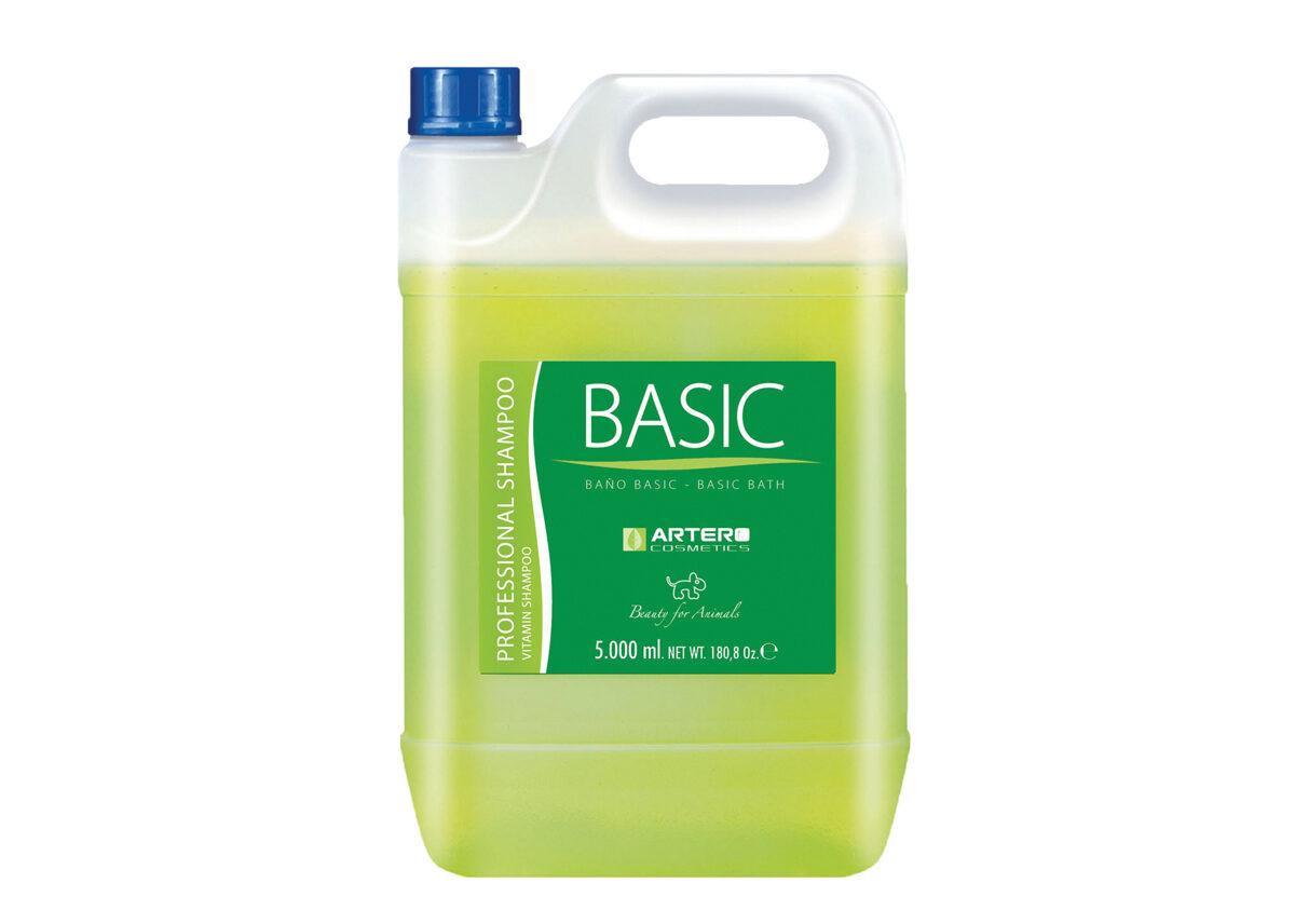 Artero Neutro Basic Shampoo, 5000 ml - attīrošs šampūns visām šķirnēm un kažoku tipiem
