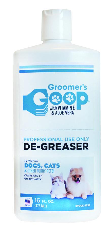 Groomer`s Goop De-Greaser (Liquid), 473 ml - gēls visgrūtāko piesārņojumu noņemšanai