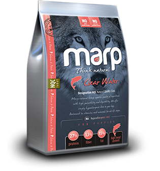 Marp Think Natural Clear Water - Лосось, 18 kg