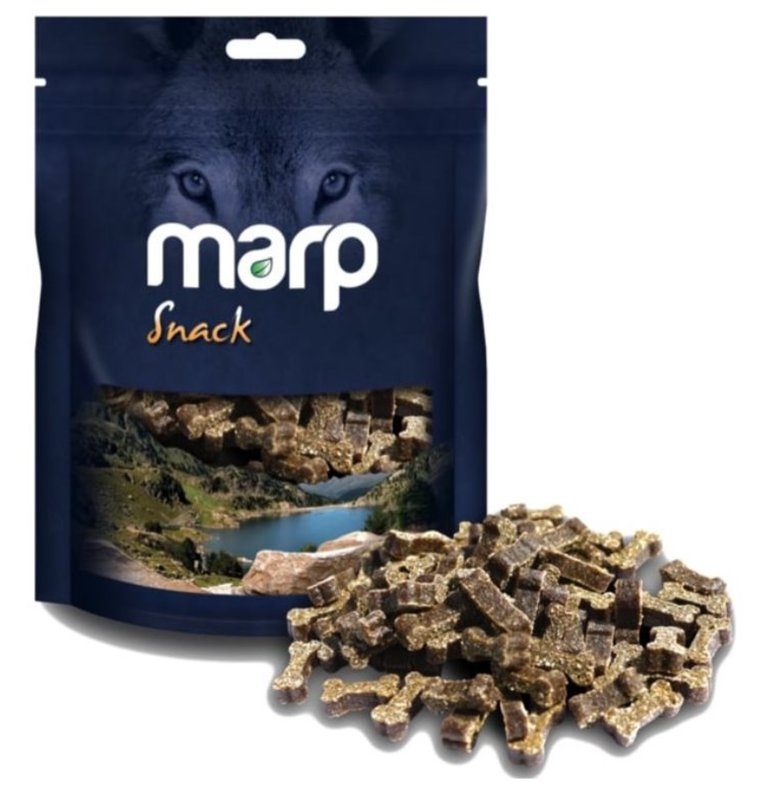 Marp Snack Beef - gardumi suņiem ar bifeli, 150g