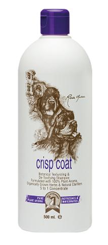 #1 All Systems Crisp Coat Shampoo, 500 ml - шампунь для собак и кошек для текстурирования и упругости шерсти