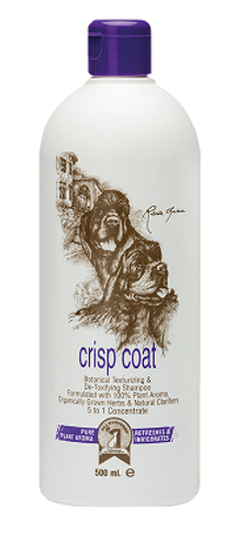 #1 All Systems Crisp Coat Shampoo, 500 ml - šampūns suņiem un kaķiem spalvas teksturēšanai un elastības palielināšana