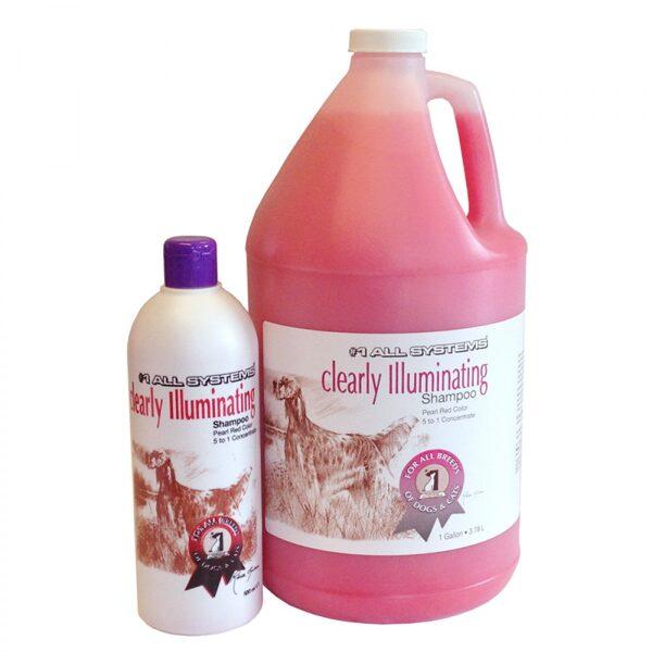 #1 All Systems Clearly Illuminating Shampoo, 3,78 l - maigi attīrošs šampūns, kas atjauno spalvas krāsu