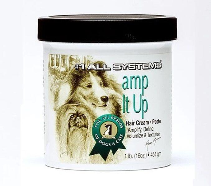 #1 All Systems Amp It Up Hair Cream - Paste, 454 gr - pastiprina, izceļ, palielina apjomu un tekstūru