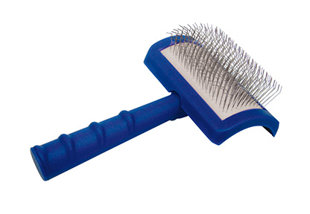 Show Tech Tuffer Than Tangles Slicker Brush With Extra Long SOFT Pins For Dogs - Ļoti gari mīkstie sari