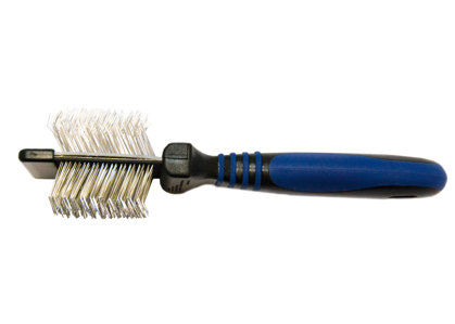 Show Tech Twin-Flex Slicker Small Slicker Brush - maza