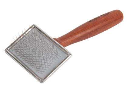 Show Tech Extra Life Slicker X-Small Rosewood Brush - Ļoti maza