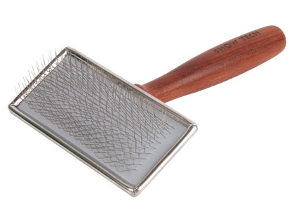 Show Tech Extra Life Slicker Small Rosewood Brush - Maza