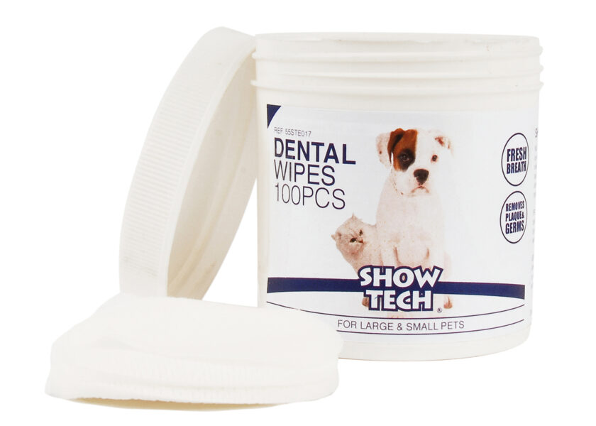 Show Tech Dental Wipes 100 pcs Teeth Cleaning Product