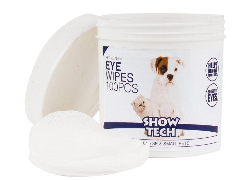 Show Tech Eye Wipes 100 pcs Eye Cleaner - diski acu zonas tīrīšanai