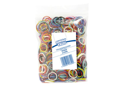 Show Tech Wrap Bands Mixed Colours - 1000 pcs - Wrapping Bands