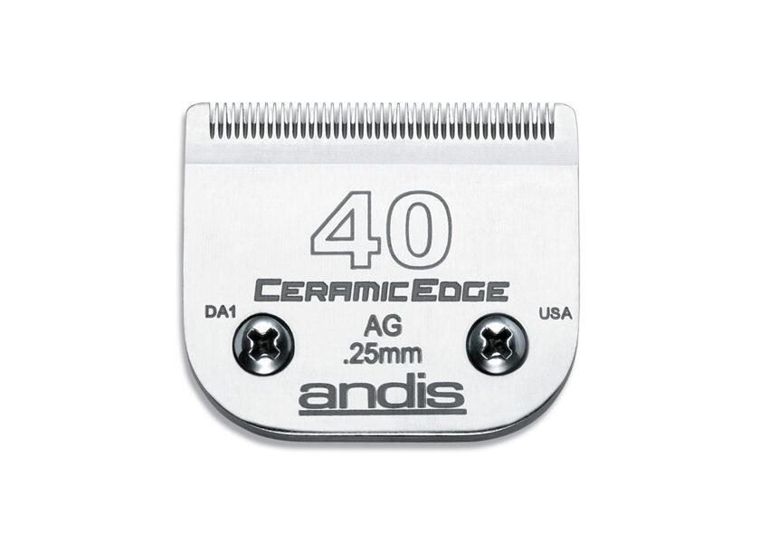 Andis Ceramic Edge Blade #40 - 0,25 mm
