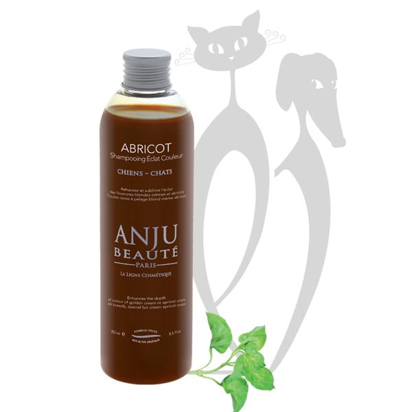 Anju Beaute Shampoo Abricot, 250 ml - blonda, krēmkrāsas, smilšu, aprikožu un dzintara nokrāsas paspilgtināšanai