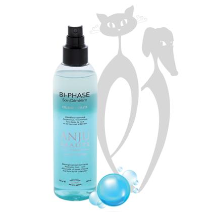 Anju Beaute Bi-phase lotion spray, 250 ml - Ārstnieciskais sprejs savēlumu atšķetināšanai. Antistatiķis.