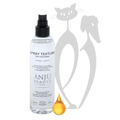 Anju Beaute Texture Lotion Spray, 250ml - piešķir spalvai apjomu un izceļ spalvas biezumu
