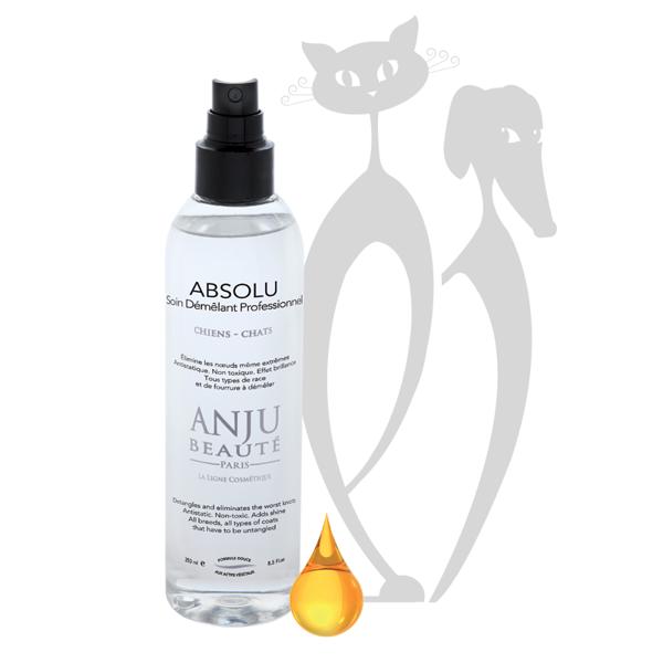 Anju Beaute Absolu Lotion Spray, 150 ml - tūlītēji atšķetinošs un antistatisks aerosols