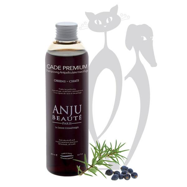 Anju Beaute Shampoo Cade Premium, 250 ml - antiseptisks šampūns, efektīvs pret blaugznām