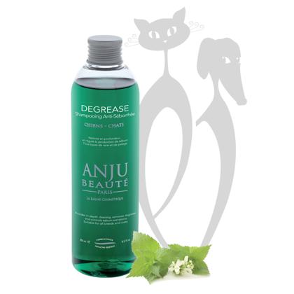 Anju Beaute Shampoo Degrease, 500 ml - Nodrošina padziļinātu tīrīšanu, attauko un kontrolē tauku sekrēciju