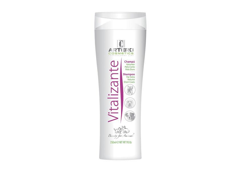 Artero Vitalizante Shampoo, 250 ml - šampūns cietspalvainajām šķirnēm vai tām, kurām nepieciešams apjoms
