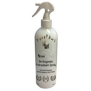 Pure Paws Bio-Enzymatic Pretreatment Spray, 473 ml - воздействует на любые загрязнения биологического происхождения