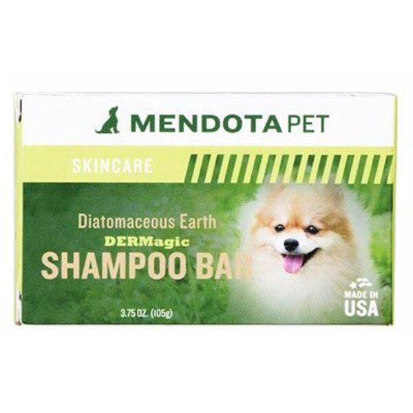 DERMagic Organic Diatomaceous Earth Shampoo Bar, 105 g - diatomīta zemes cetais šampūns. Tikai suņiem! Pretmikrobu, nomierinošā un terapeitiska ārstēšana
