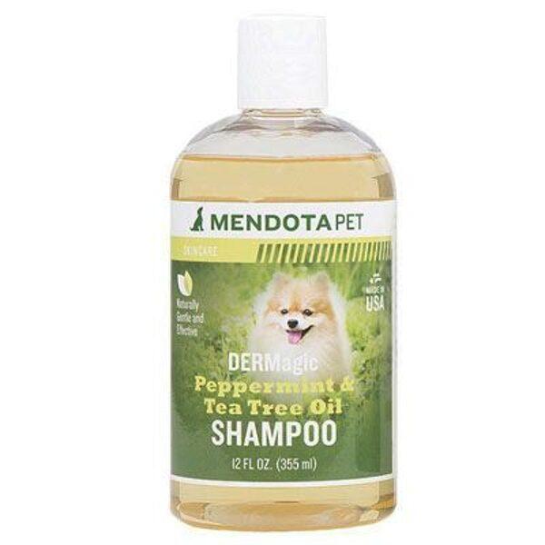 DERMagic Peppermint & Tea Tree Oil Shampoo, 355 ml - novērš smakas, stimulē sadzīšanas procesu, atjauno bojāto ādu