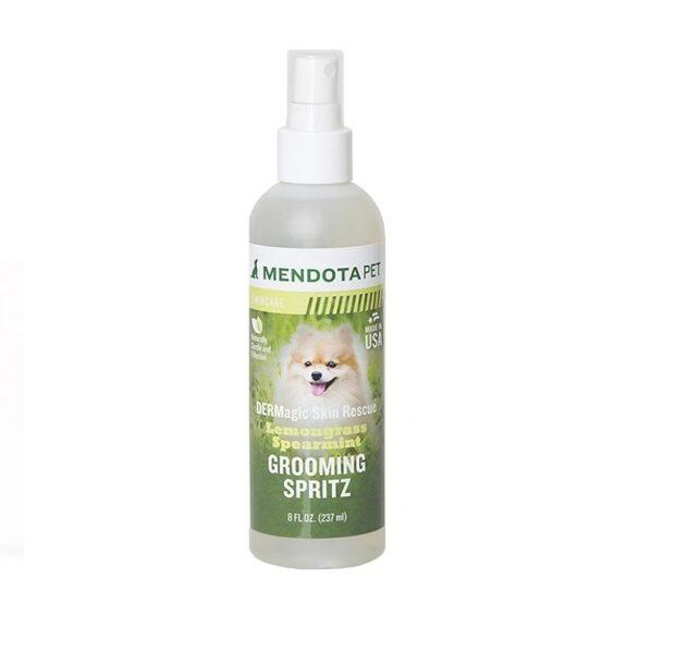 DERMagic Skin Rescue Grooming Spritz - Lemongrass Spearmint, 237 ml - attīra mēteli, novērš nepatīkamas smakas un novērš netīrumu veidošanos