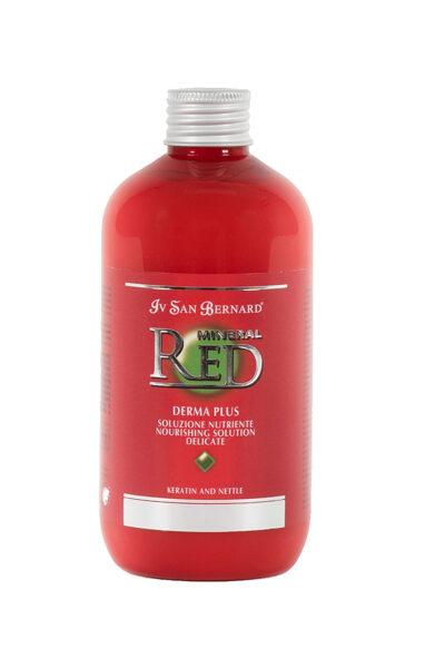 Iv San Bernard Red Mineral Derma Plus – Nourishing Solution Conditioner, 300 ml - dziļi baro dermu un matus