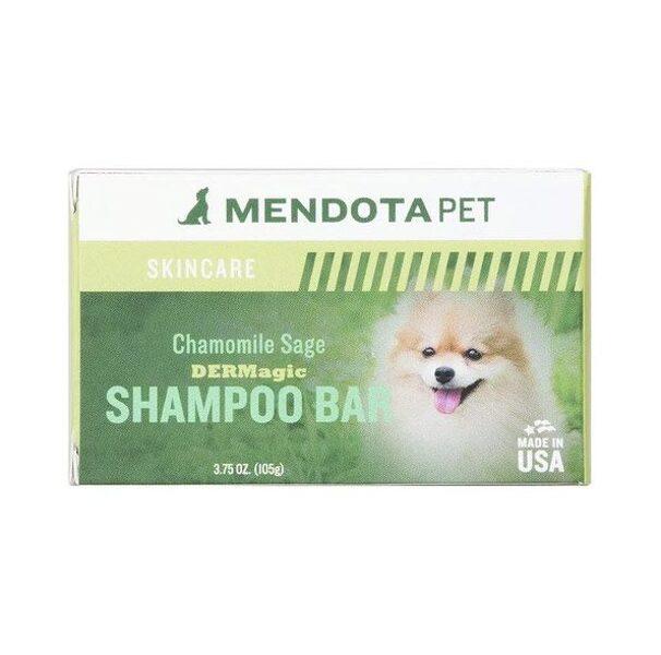 DERMagic Organic Shampoo Bar - Chamomile Sage, 105 g - svaigums