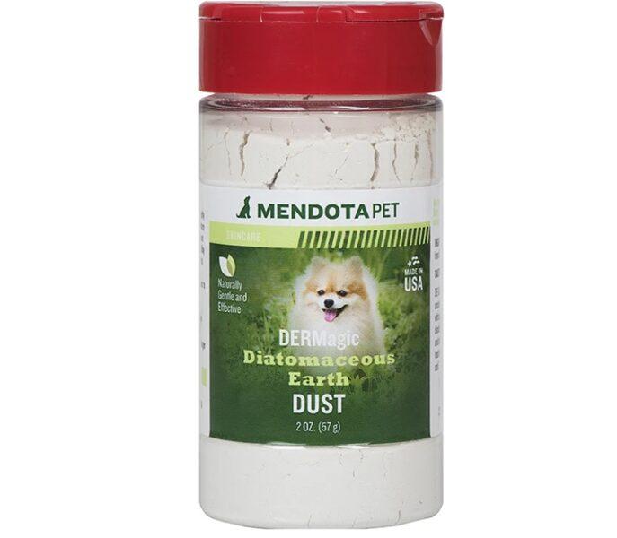 DERMagic Diatomaceous Earth Dust, 57 g - Sauss netoksisks dezinfekcijas pulveris pret ārējiem parazītiem